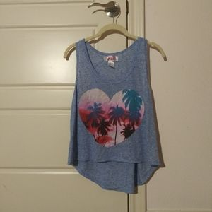 mighty fine paradise tank top